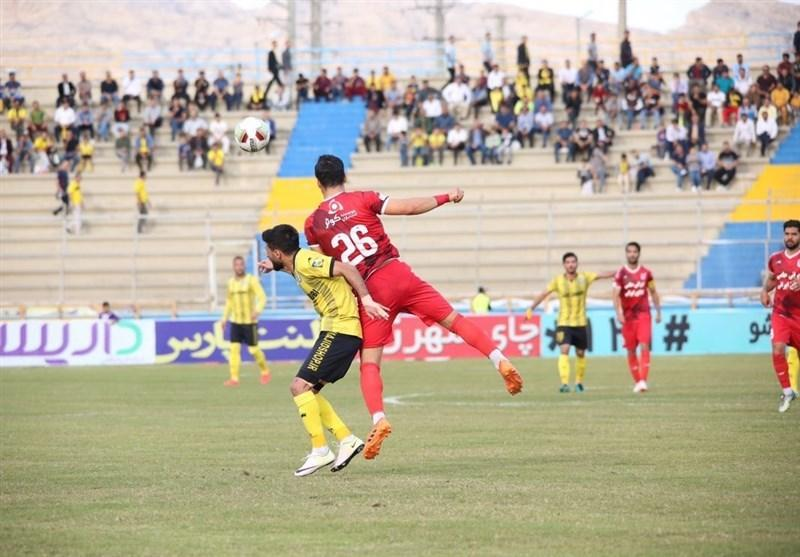 لیگ برتر فوتبال، تساوی یک نیمه ای پارس جنوبی و تراکتورسازی
