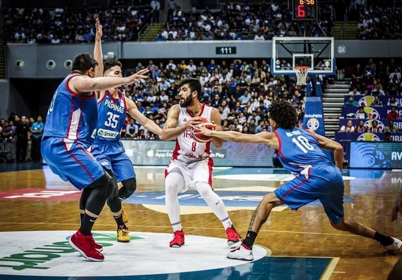 بسکتبال انتخابی جام جهانی، ایران با غلبه بر فیلیپین به جام جهانی صعود کرد