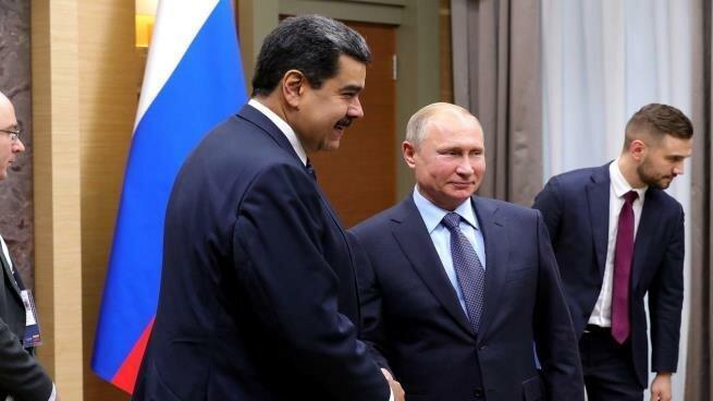 روسیه درباره ونزوئلا فراخوان داد