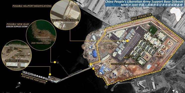 فوربس: چین در حال توسعه پایگاه های دریایی خود در خارج از مرزهاست